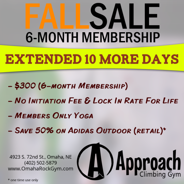 6-Month Membership Sale